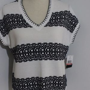 Women's large fit Tommy Hilfiger cap sleeve shirt